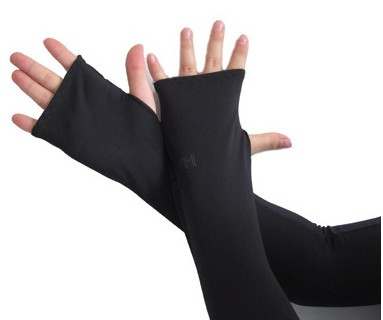 UV Arm Muff with hand cover in long size as YT-234