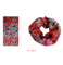 Mixed Color Flower Design Scarf (YT-9105)
