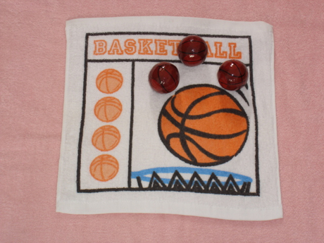 Basketball Shaped Compressed Towel for Your Promotion (YT-612)