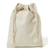 Logo Printed Cotton Drawstring Bag