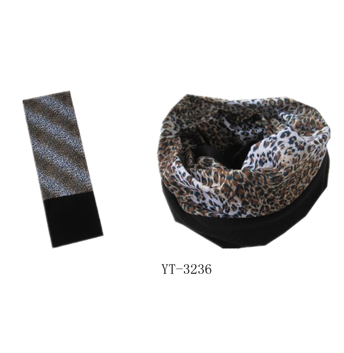 Winter Bandana with Fleece Part as YT-3236