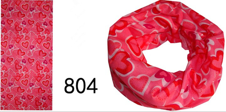 High Sweat Absorption Neck Tube with printing design as YT-804