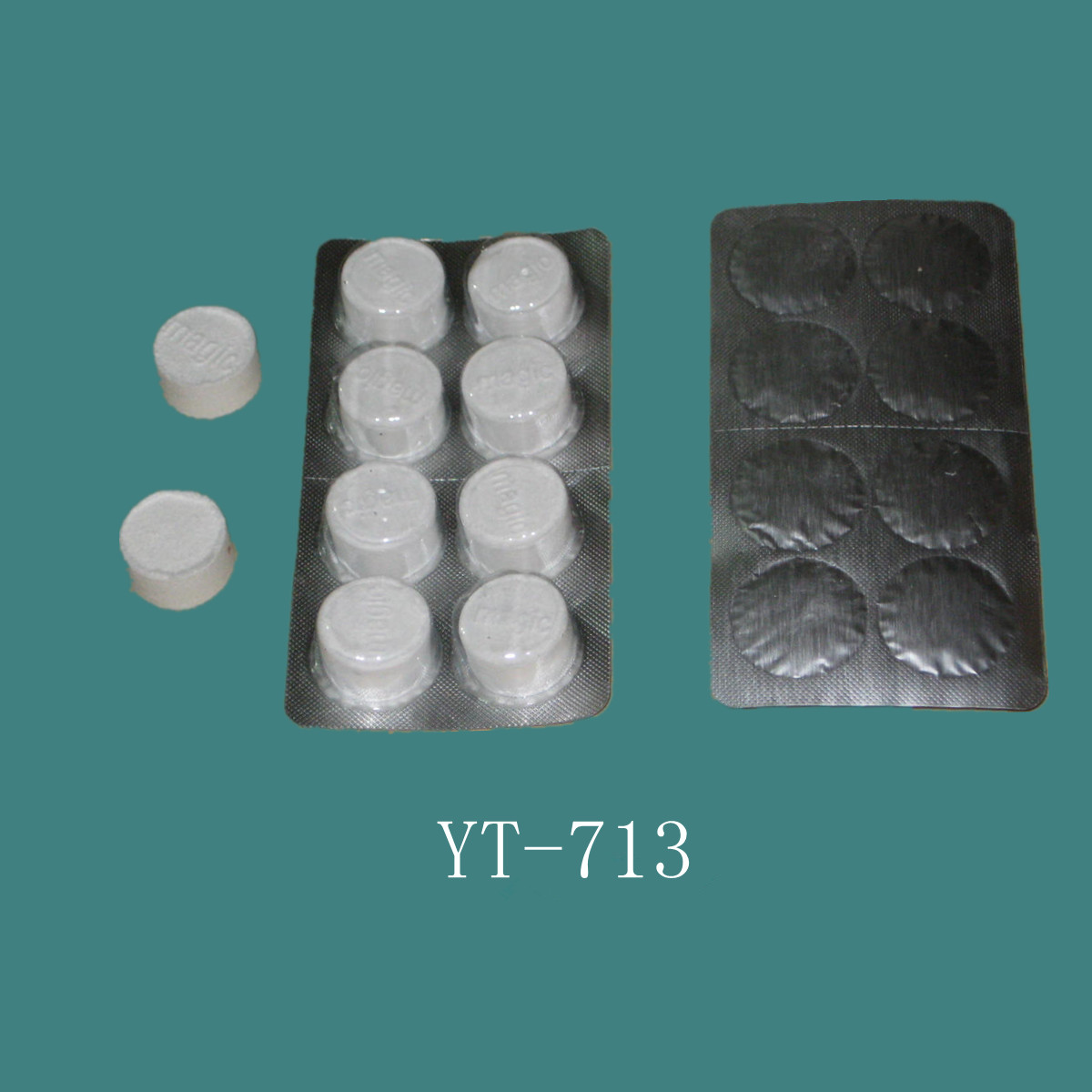 Tissues Compressed Into Coin Size with Alu Blister Pack (YT-713)