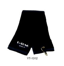 Golf Towel 100% Cotton with Hook as Yt-1312