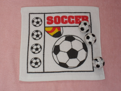 Soccerball Design Compressed Towel as Yt-615