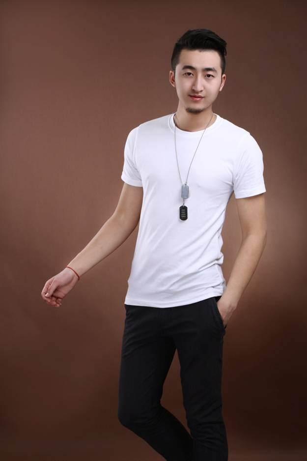 Round Neck Combed Advertising T-Shirt as YT-2803